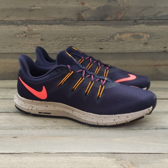 Segundo grado Chip Cancelar  Nike Shoes | Womens Quest Se Running Blackened Blue | Poshmark